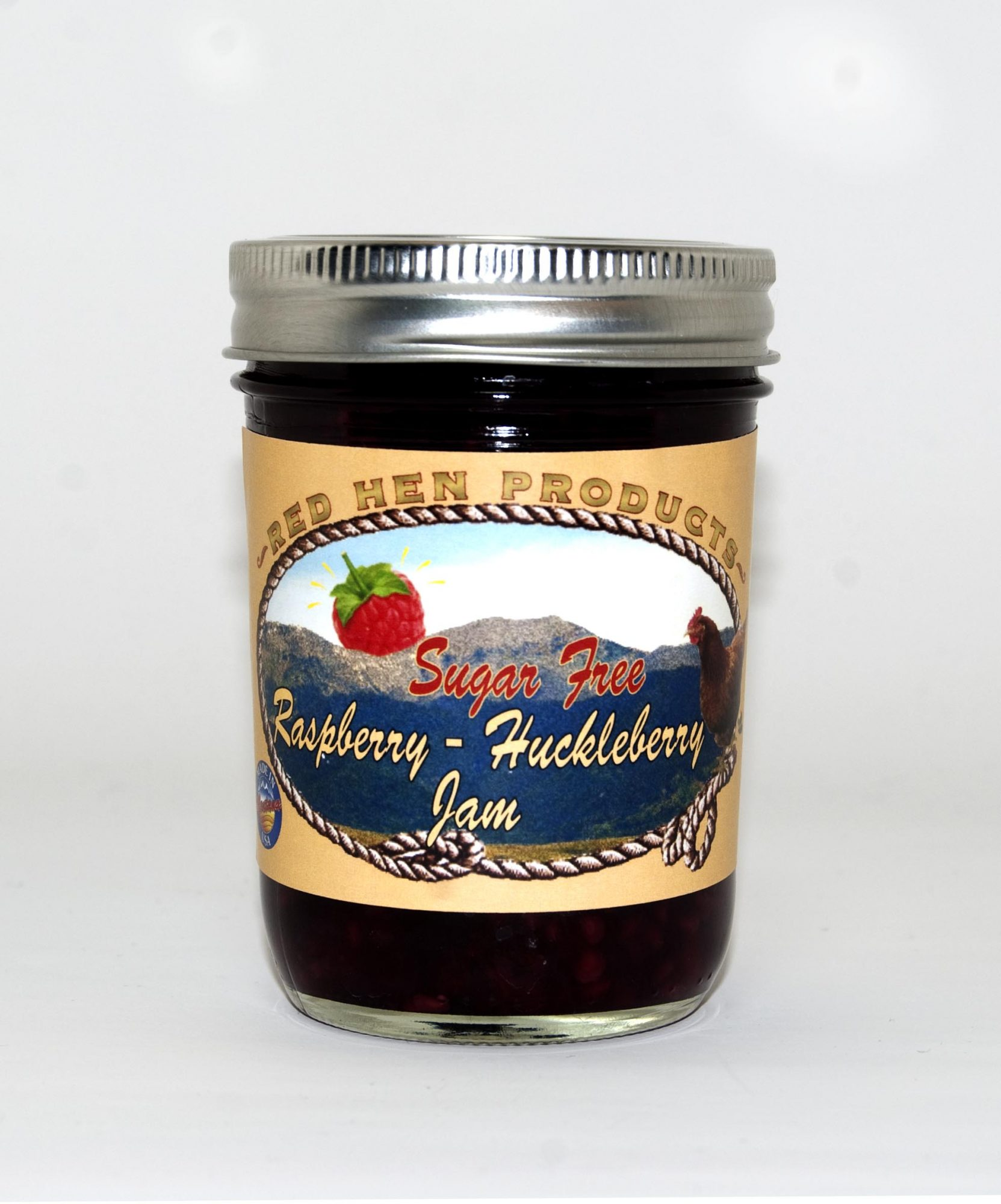 Sugar Free Raspberry-Huckleberry Jam