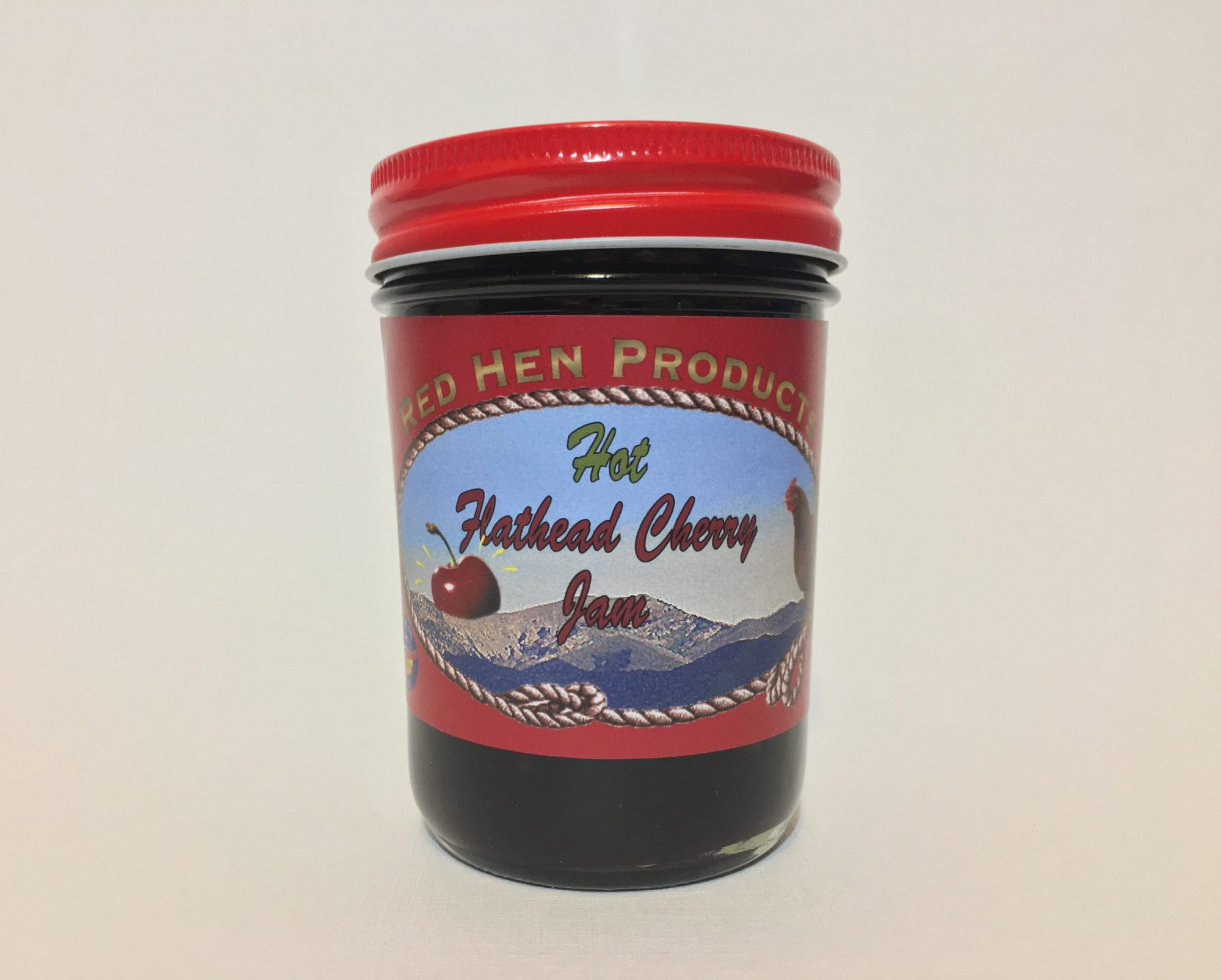 Hot Flathead Cherry Jam